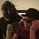 MDG : Africa Stop Ebola song : iken Jah Fakoly and Salif Keita working in studio