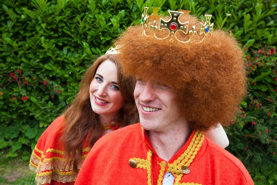 red hair banraion